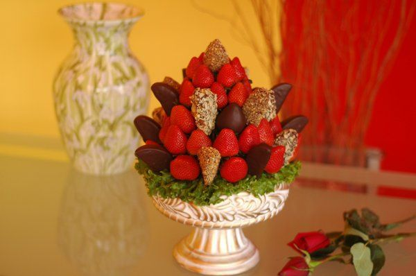 A luxurious fruit bouquet, specially designed for fruit and chocolate lovers. A beautiful...