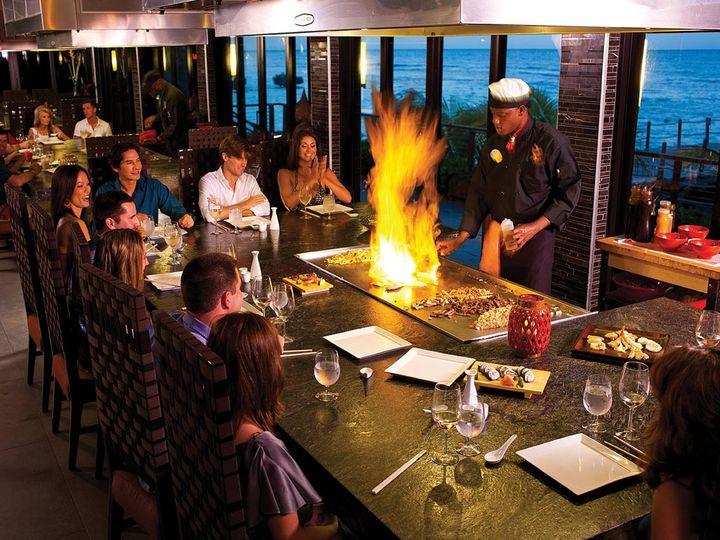 Tmx 1414463575963 Carolyns Grande Riviera Kimonos Dining With Flames Binghamton, NY wedding travel