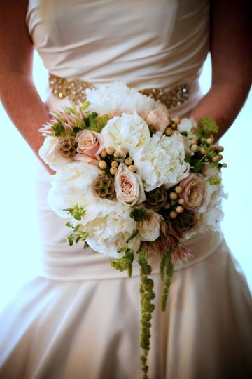 Blush & Ivory Peony Bouquet