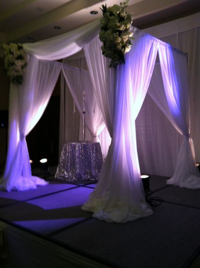 Wedding Ceremony Lighting, Virginia Beach, Virginia