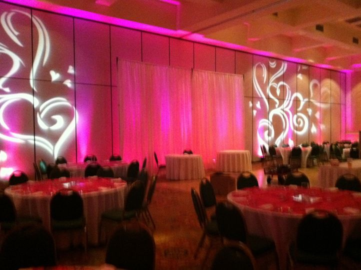 Wedding Reception Lighting, Virginia Beach, Virginia