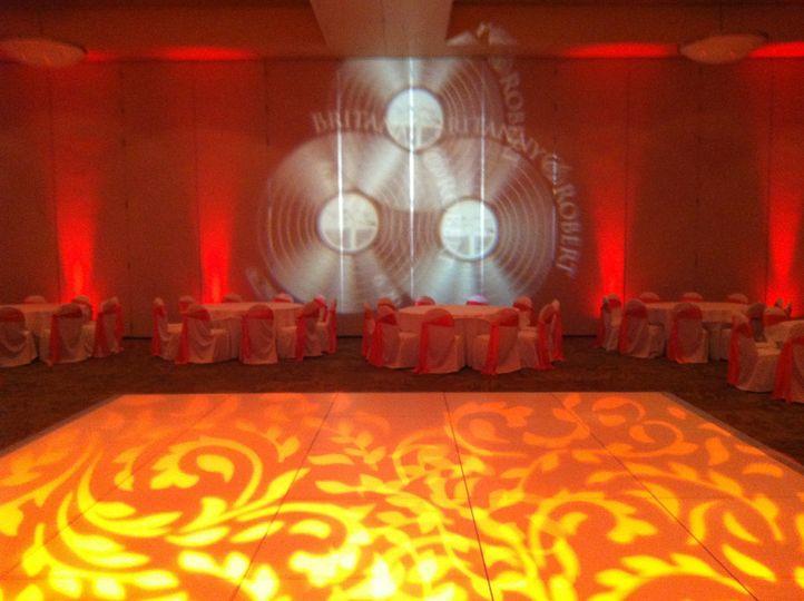 Wedding Reception Lighting, Chesapeake, Virginia