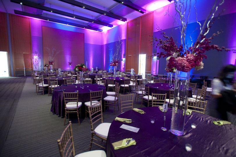 Wedding Reception Lighting, Hampton, Virginia
