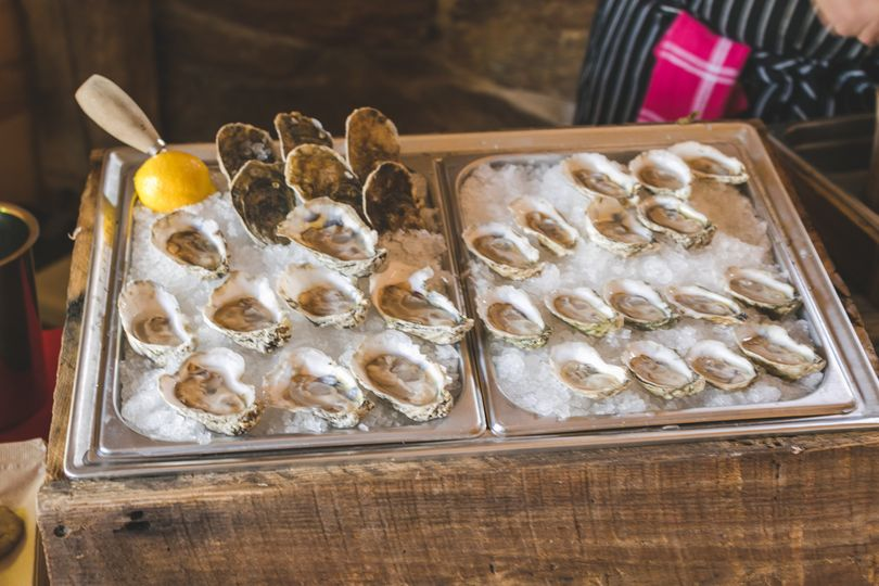 An oyster bar by The Local Oyster, Baltimore, MD