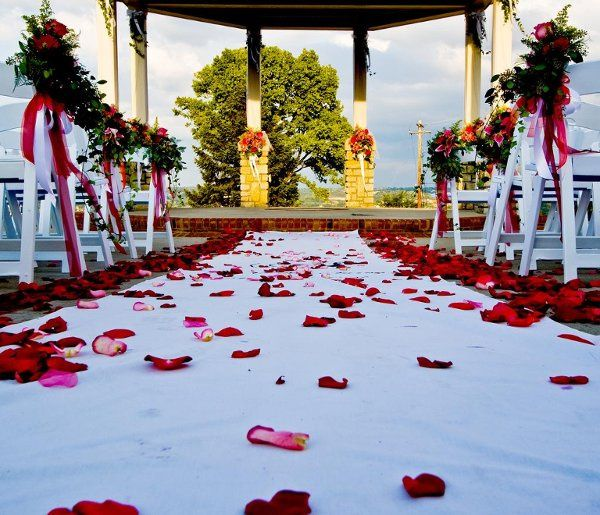We provide every service from small centerpieces to large altar set ups.