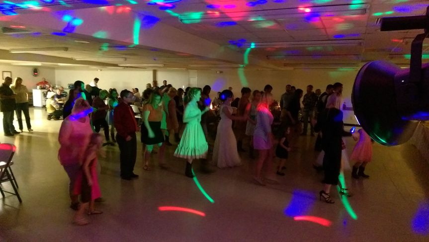 Keeping the dance floor busy! I play all the favorites!
