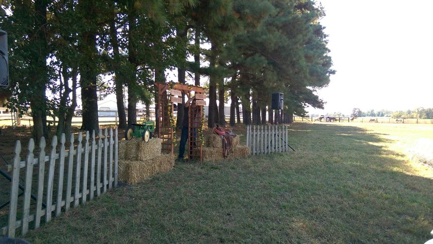 It was a gorgeous day for an outdoor cowboy wedding! I did the music for this ceremony as well as...