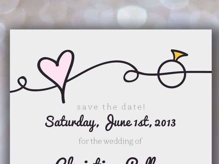 Tmx 1370023832065 002nikkiroskodesignetsystdlist Austin, TX wedding invitation