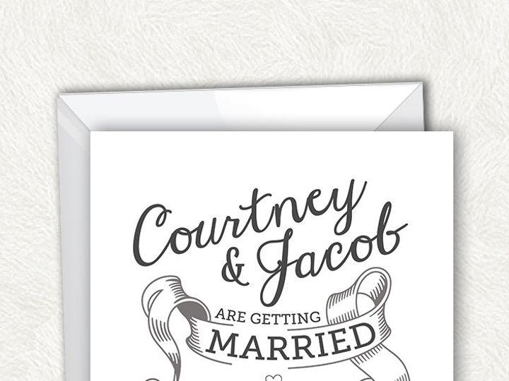 Tmx 1375443358009 Nikkiroskoetsy Invite3listingslate Austin, TX wedding invitation