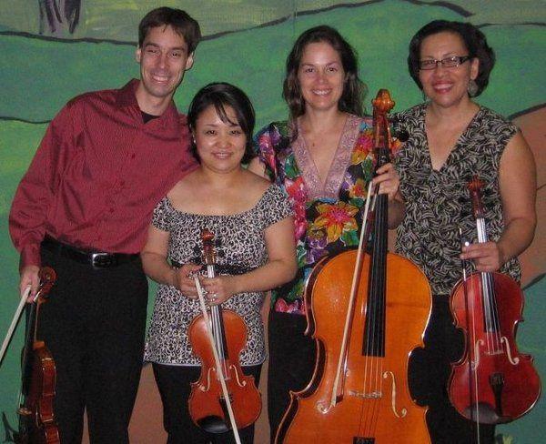 The quartet together