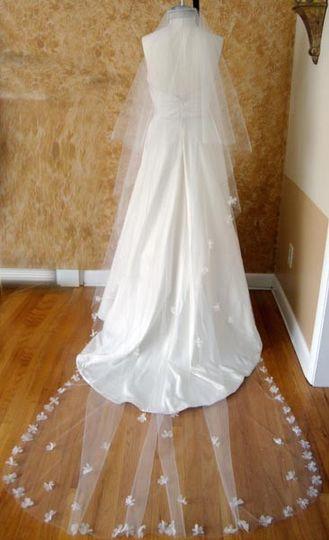 catherdral petal veil