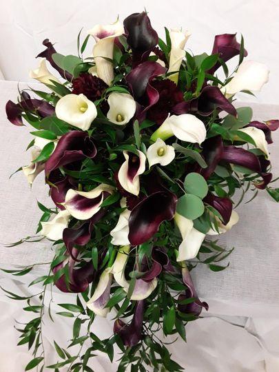 Stunning Calla Cascade