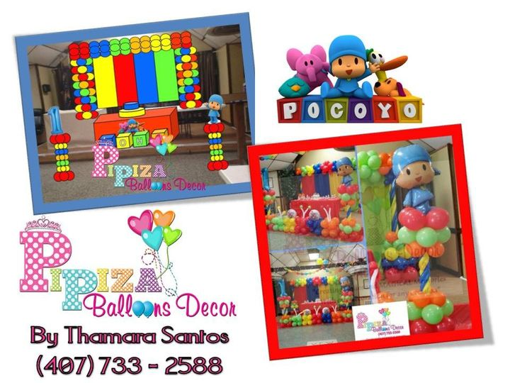 Tmx 1454199216671 Pocoyo Bday 2015 Orlando wedding rental