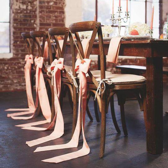 Chairs decoratio