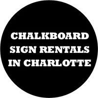 chalkboard sign rentals in charlotte nc 51 779446