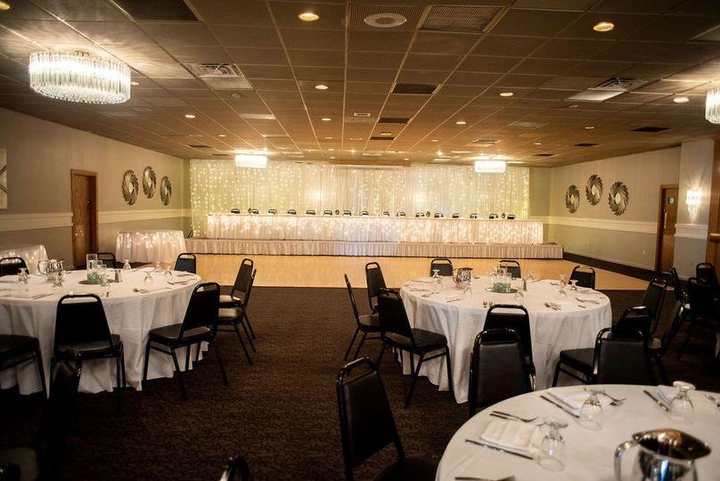 Elegant banquet setup