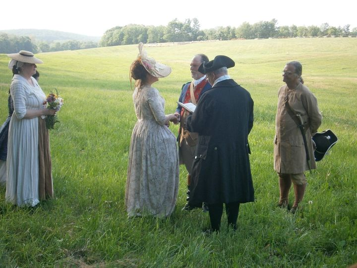 wedding colonial