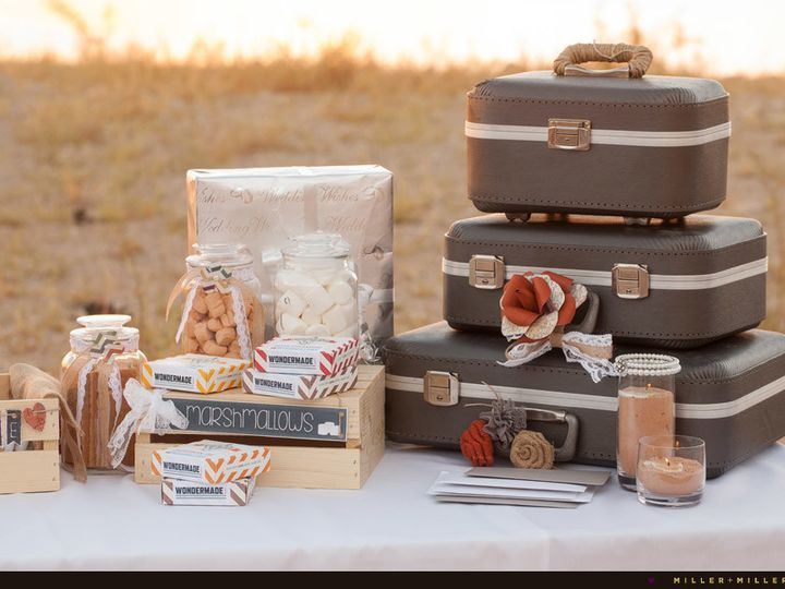 Tmx 1500313343702 Vintage Suitcases Outdoor Desert Wedding Sanford wedding favor