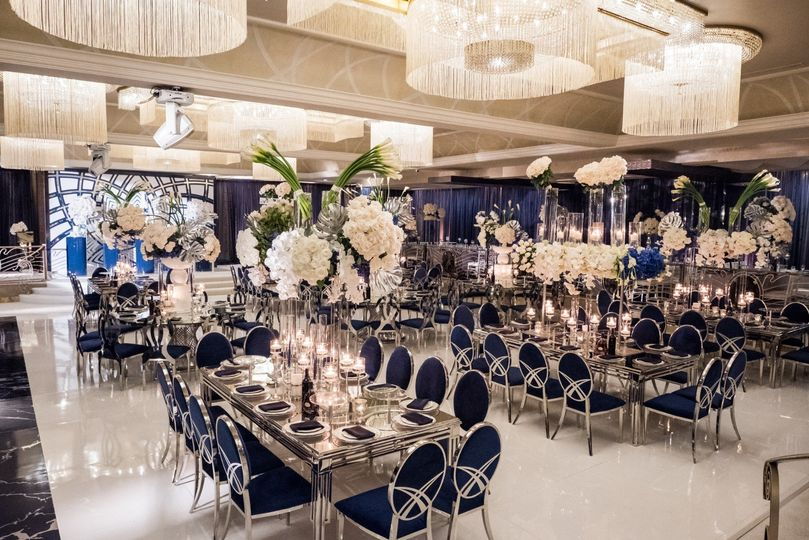 Blue Theme Wedding