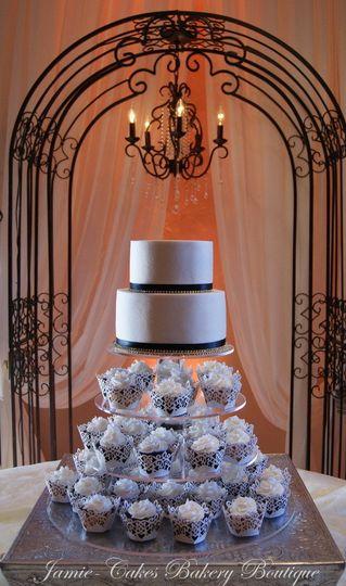 Lush blue cakes