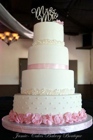 jamie cakes bakery boutique wedding cake tucson az weddingwire. Black Bedroom Furniture Sets. Home Design Ideas