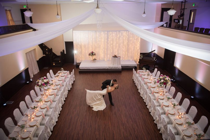 The Main Ballroom is a wonderful, large gathering space. Perfect for wedding Ceremonies, Receptions,...