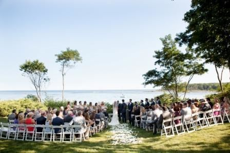 Hartley Mason Reserve Wedding Ceremony, York Harbor Inn Weddings. York Maine Vows Photography