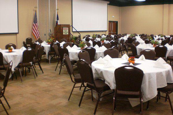 Ballroom Banquet setup example