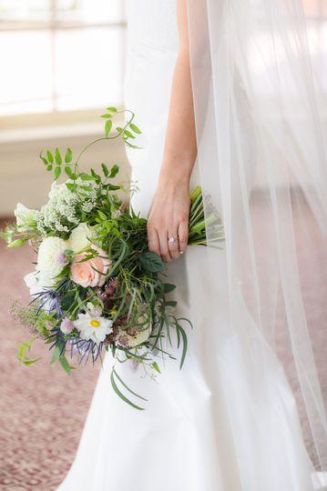 A verdant bouquet