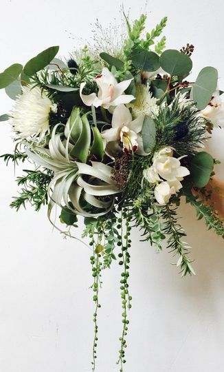 A unique and lovely bouquet