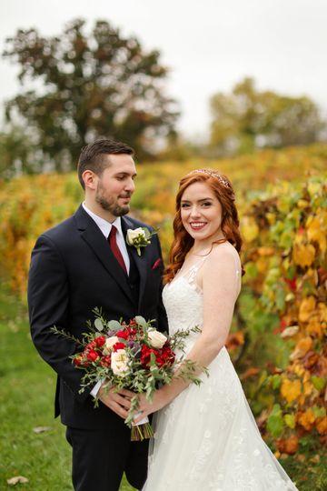 Bride and Groom in Loudoun