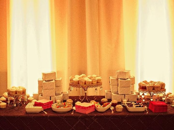 Tmx 1440989721394 Dessert Table Yolanda Tampa, FL wedding cake