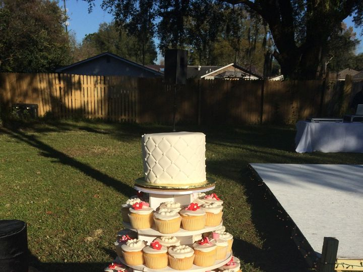 Tmx 1441063890076 1 752 Tampa, FL wedding cake