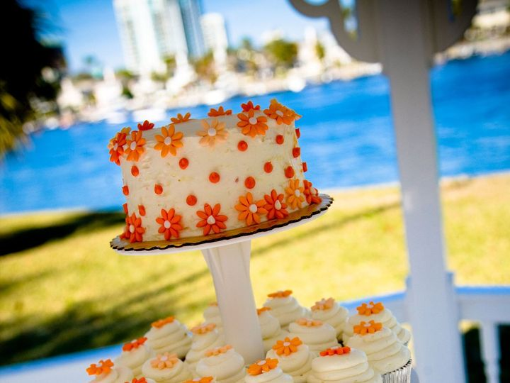 Tmx 1441063947491 Cupcake Tower Tampa, FL wedding cake