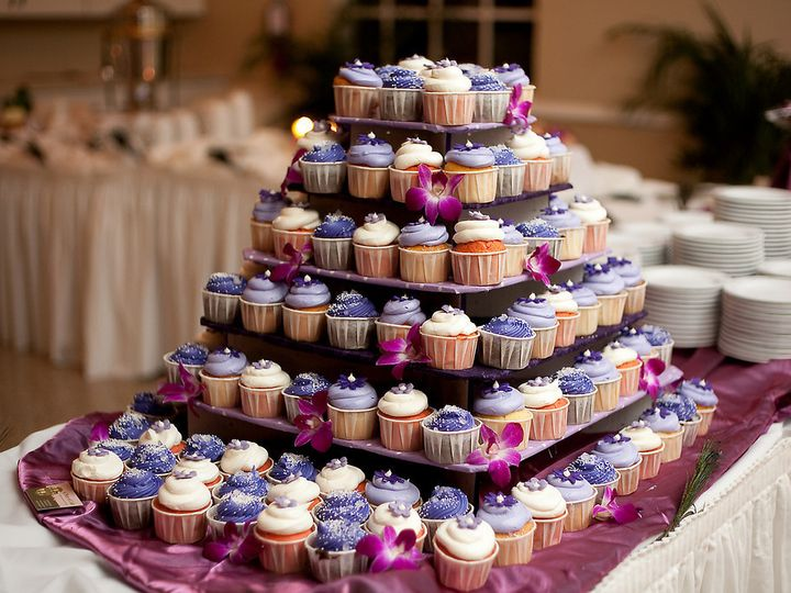 Tmx 1441063958755 Cupcake Tree 2 Tampa, FL wedding cake