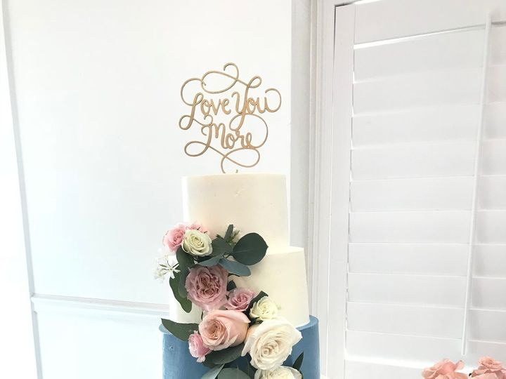 Tmx 1527212720 F5fb1bd7d39aff33 1527212715 959b923e5b94bfa0 1527212711516 1 Blueweddingcake Tampa, FL wedding cake