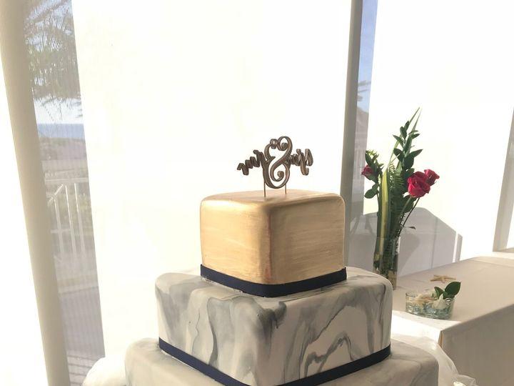 Tmx 1527212723 8cce8d853866194a 1527212717 De2bf8323e252446 1527212711523 8 Marbleweddingcake Tampa, FL wedding cake