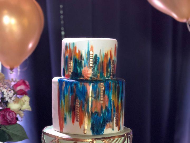 Tmx Geometricweddingcake 51 166546 1556764723 Tampa, FL wedding cake