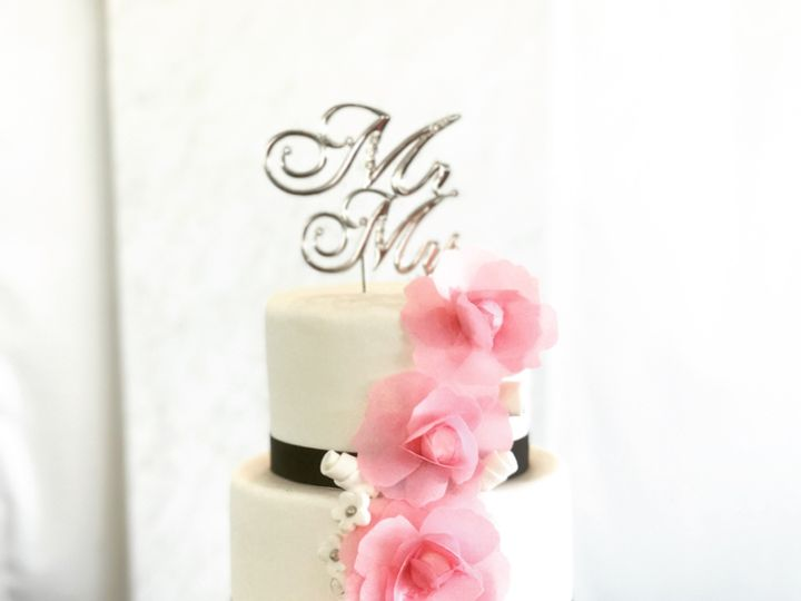 Tmx Pinkandblackwedding 51 166546 1556764912 Tampa, FL wedding cake