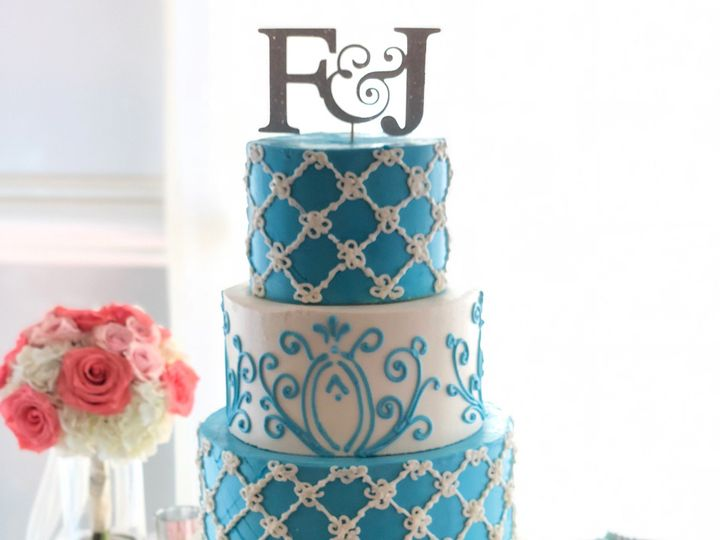 Tmx Tiffanyblueweddingcake 51 166546 1556764951 Tampa, FL wedding cake