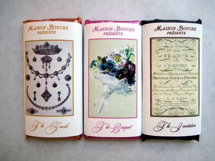 Tmx 1344018023819 MarLaitJewelsBouqInvite Oakland wedding favor