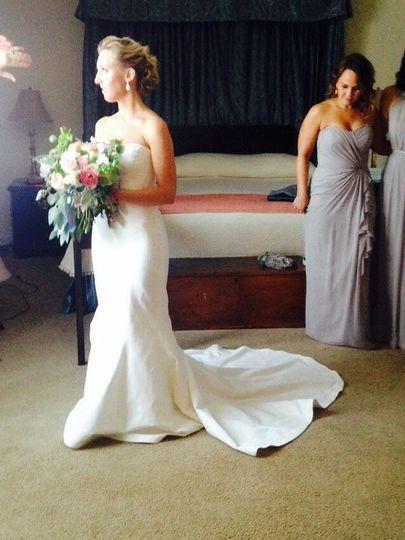 Sutton Foster Wedding Dress 82887 Hdweb