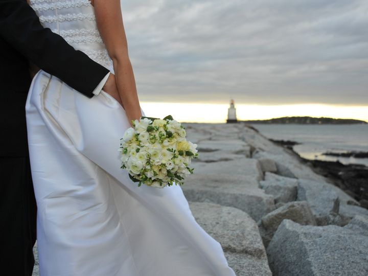 Tmx 1398634469583 Bride  Groom On Jett Portland, ME wedding dress