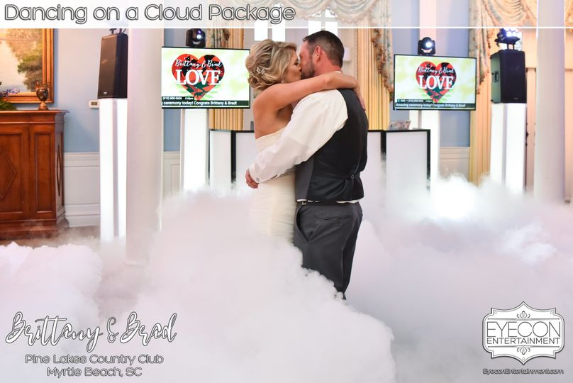 Dancing on a cloud with Brittany and Brad