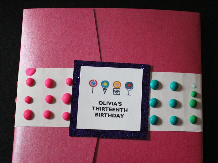 Tmx 1442441434893 Olivia Invite Front Merrick wedding invitation