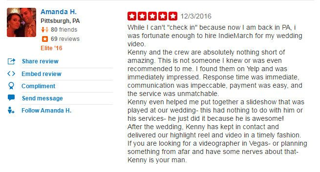Check out more of our reviews at https://www.yelp.com/biz/indiemarch-film-las-vegas-2