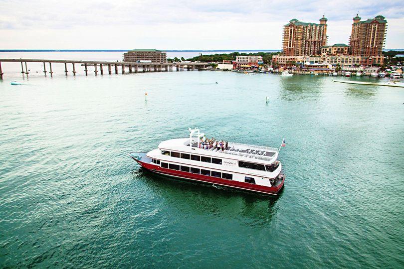 SunQuest Cruises Venue Miramar Beach FL WeddingWire - Cruises in florida