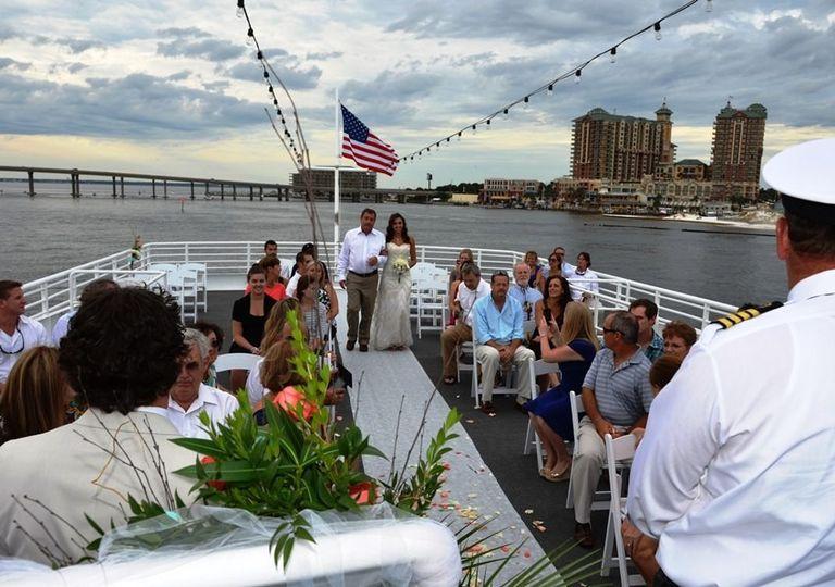 Sunquest Cruises Venue Miramar Beach Fl Weddingwire