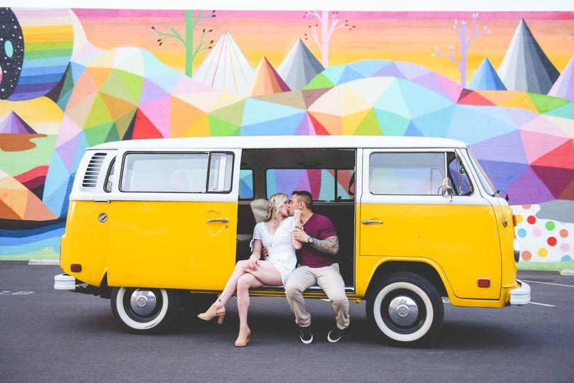 Vegas Wedding Bus