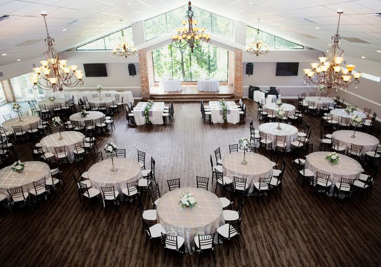Large reception space